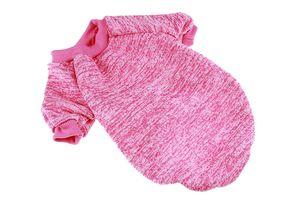 1PCS Pet Dog Clothes Fashion Knitted Pet Clothes For Dog Coat Warm Outfits Pet Cat Vest Clothing 6 Size 3 Colors
