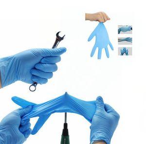 Einweghandschuhe Gummischutzhülle Latex Haushaltsreinigung Handschuhe Handschutzhandschuh Sicherheit Universal-Reinigungshandschuh KKA7710