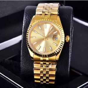 BRW Orologi uomini e donne di lusso della moda macchia mens movimento cinturino in acciaio Quart orologi orologio multi colore con il calendario per il regalo
