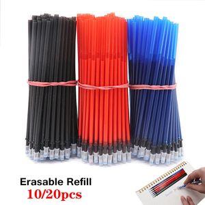 Erasable Washable Handle Erasable Pen Refill for Office Signature Gel Pen Magic Set School Writing Tools 0.5mm