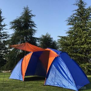 (5-8) NPC Zelt, Sommer doppeltes wasserdichtes Zelt, im Freienzelt Camping, Wandern, Angeln, Jagen, Familie, Partyzelt
