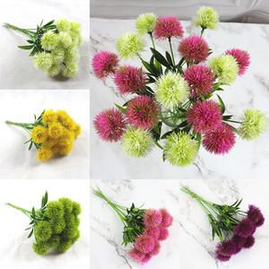 Dekoratif Çiçek Tek Karahindiba Yapay Çiçekler Karahindiba Plastik Çiçek Parti Düğün Masa Centerpieces 26cm WX9-1687 Stem