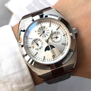 moda izle mens saatler yurtdışı serisi otomatik hareketi gerçek inek deri kayış montre de luxe tarih haftalık aylık beyefendi Kol saatı