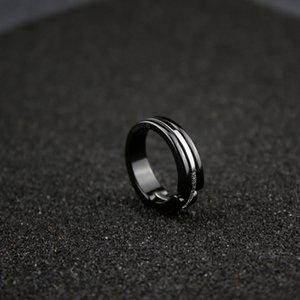 Anneaux de diamant naturels irréguliers pour femmes version haute bague en céramique noire pour bagues de fiançailles en diamant pour femmes