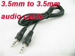 3,5 mm macho a M cable adaptador de audio 3.5 mm MP3 / 4 100% 300ps vendedores calientes