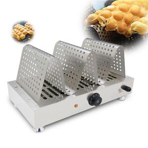 NOUVEAU Commercial Egg Waffle chaud Affichage en acier inoxydable alimentaire chaud Vitrine réchaud Waffle machine d'affichage 110V / 220V