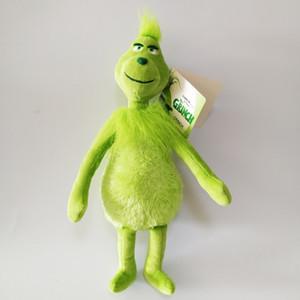 """Alta calidad 100% algodón 11.8"""" 30cm ¿Cómo el Grinch robó la Navidad de la felpa animales de juguete para los regalos de vacaciones para niños NOOM021"""