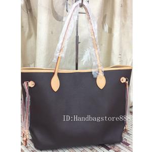 Borsa di medie dimensioni con portafoglio Nuova moda donna borse casual signora borsa famosa borsa in pelle PU borse da viaggio borsa femmina 2pcs / set