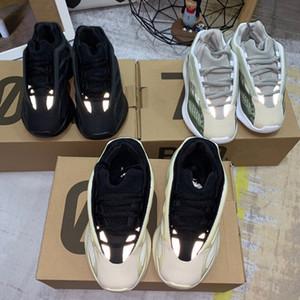 2019 niños de malva 700 V3 corredor de la onda muchacho de los niños niñas entrenador de las zapatillas de deporte infantil 700 V2 estático niño Kanye West zapatos de deporte 28-35 Chaussure
