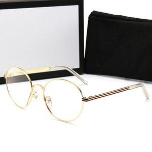 2020 designer eyeglasses frames men Ms fashion crime male sunglasses retro gradient glasses sunglasses UV400 restoring ancient ways