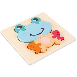 Laburuik Jouets Puzzle enfants Stereo Intelligence Development Toy Garçons Filles en bois des jouets anciens Enfance