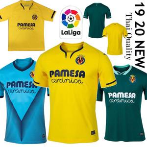 Camisa 2020 Villarreal CF S.CAZORLA camisetas de fútbol 19/20 Inicio CHUKWUEZE Fornals fútbol uniforme PEDRAZA MORENO Ekambi IBORRA Fútbol