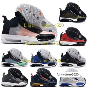 New Mens Air Zion Williamson XXXIV 34 ECLIPSE Snow Leopard Basketball Shoes Jumpman 34s BLUE VOID Luxury Designer Sneakers Trainers US 7-12