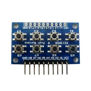 الوحدة (8) على زر أزرار مستوى أدنى أعلى دفع 8 لوحة المفاتيح لوحة المفاتيح لDUE اللوح ليوناردو ZERO تري مايكرو بي الموز STM32
