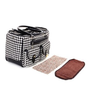 Pet Carrier outdoors portable dog Pocket multi-function cat bags Foldable breathable handbags bag Plover case Travel Puppy kitten plaid 0129
