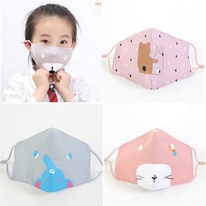 Beste Qualität 2020 Im Lager schnellen Schiff Kinder und Erwachsen-Gesichtsmasken mit Atemventil 3-Schicht-Mode-Designer Maske Staubdichtes Earloop Masken