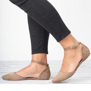 HEFLASHOR Frühling Loafers Fest-quadratische Zehe-Ballett-Ebene beiläufige Slip-on-Schuh-Frauen-Comfort Women Flach Flache Lederschuhe