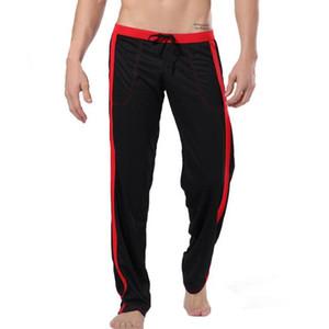 Pijamas Hommes Pijama Hombre Sleep Home Pantalon Pantalons Homme Pantalon Loose Pantalon Love Thermal Sous-vêtements Homme Pajamas Men Checking