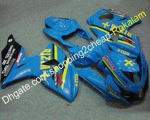 Популярный обтекатель для Suzuki Motorcycle K9 GSXR1000 2009 2010 2011 2012 2013 2014 2015 2016 GSXR 1000 Blue Fairings kit (Литье под давлением)
