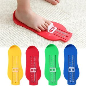 8 cores 1PC Pé infantil régua de medição da ferramenta bebê criança Crianças Calçados Acessórios de bitola pé Medida Ferramentas
