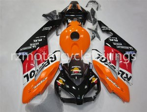 High quality Injection molding New ABS Motorcycle Full Fairing Kit Fit For CBR1000RR 2004 2005 custom Black Orange Red