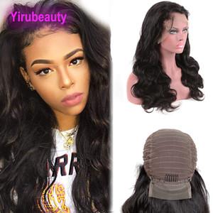 Malaysische Lace Front Perücken 8-30inch Pre gezupft 13X4 Lace Front Perücke mit natürlichen Haaransatz Körperwelle natürliche Farbe kambodschanischen Haarprodukte