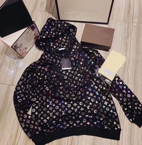 Primavera 2020 di New Celebrity Web lo stesso tipo di Radiant Bronzing con cappuccio allentato sottile Stampa giacca e camicia