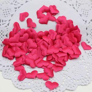 Wedding Arrangement Sponge Love Peach Heart 2CM Confetti Heart Shape Confetti Simulation Sprinkle Hand Throw Flowers Mixed Color