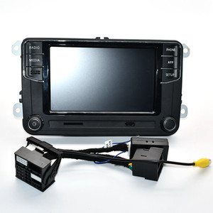 "Carro dvd Desay 6.5"" Radio MIB RCD330 Plus para VW Golf 5 6 Tiguan Passat polo 5GG 035 280 D 6RD 035 187 B"
