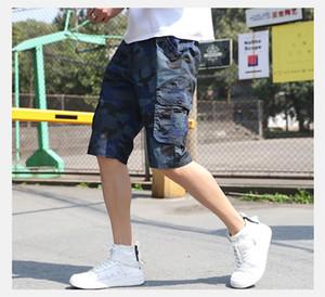Casual Men Pants Sport 2020 neuer Sommer-Ankunft Camouflage Shorts für Männer Fünf Minute Hosen für Männer Beliebte Fracht Sommer Running Hose
