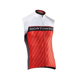 2018 New NW team 여름 슬리브리스 사이클링 저지 맨스 트라이 애슬론 bycicle Cycling Clothing Ropa Ciclismo hombre 자전거 셔츠 Cloth