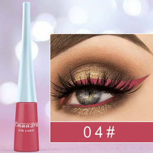 CmaaDu impermeabile professionale del Eyeliner eyeliner liquido opaco Colore brillante Eyeliner Pencil Lunga Tenuta 12 colori 240 pc / lotto DHL