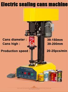 Auto Selagem Dried Fruit Cans Tin Can elétricos Sealer 15-25pcs / min
