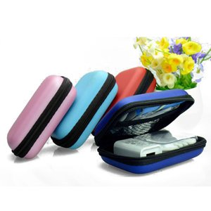 Colorful Headphone Case Travel Storage Bag Headphone Protective Storage Box For Earphone Data Cable Charger Coin Case Container