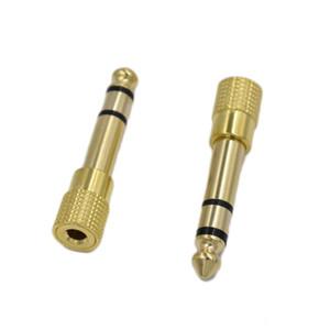 Jack 6,35mm-Stecker auf 3,5 mm Buchse Kopfhörer-Verstärker Audio Adapter Mikrofon AUX 6,3 3,5 mm Converter