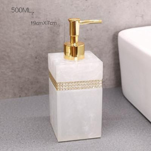 400ml, 500ml, 800ml Shower Resina Europeia Gel Soap Dispenser Lotion Garrafa Hand Sanitizer Shampoo Moisture Imprensa Bottle