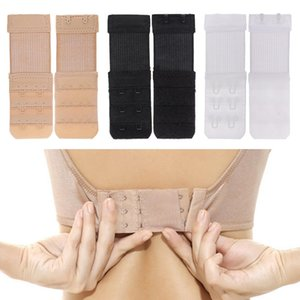 1pcs elastico regolabile Bra Extender 2 Hook Bra estensione fai da te Bra Extender 3 file biancheria intima femminile Strap Accessori Abbigliamento