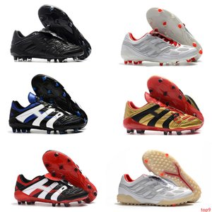 Predator Precision IC TF X Beckham Mens Football Shoes PP Paul Pogba Lightest FG Soccer Cleats Cheaper Beckham Precisi Soccer Shoes