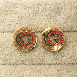 Top qualité goutte rouge huile Boucles d'oreilles couleur or perle en acier inoxydable G Stamp oreilles or Boucles d'oreille en argent pour les femmes de soirée de mariage Bijoux