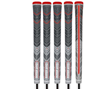 2018 Nueva gris / rojo Golf Grips ALIGN MCC Plus 4 Multicompound tamaño estándar / tamaño mediano envío