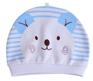 2019 bébé nouveau-né casquette en coton coton couche été 0-3 mois chapeau bonnet nouveau