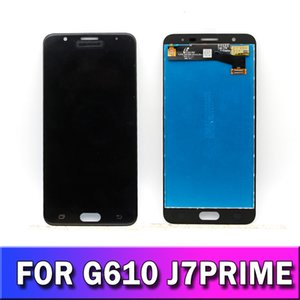 SAMSUNG Galaxy G611 LCD Ekran Yedek parçalar için SAMSUNG Galaxy J7 Prime 2018 LCD Ekran Dokunmatik Ekran Orijinal LCD