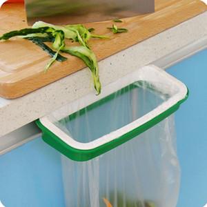 Trash Garbage Bag rack Anexar Titular / Over Cabinet Armário Porta Cozinha Casa de Banho