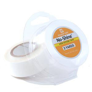 Nueva llegada Neitsi 1 rollo No Shine EE. UU. Walker Adhesivos Cinta Blanca 1.9 cm * 3 Yardas Cinta de doble cara para la piel Trama Extensión del cabello