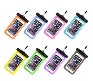 غطاء مقاوم للماء لهاتف ايفون 7 و 6 اس من كوكه الحقيبة حقيبة مضادة للماء لهواتف سامسونج جالاكسي S8 HUAWEI Swim Case