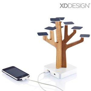 100% оригинальный XDDesign Solar Suntree home decoration с зарядным устройством для MP3/MP4 плеера, сотового телефона, солнечного зарядного устройства Suntree Power bank