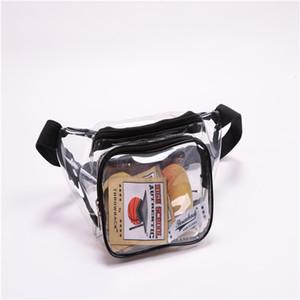 Fanny Pack, Veckle Очистить пакет Водонепроницаемый Cute талии сумка + PATCH для стадиона Approved