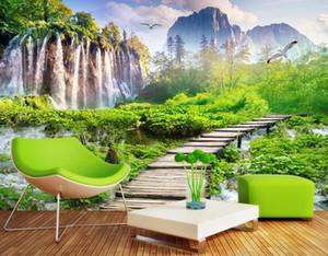 красивые пейзажи обои Пейзаж водопад сад пейзаж фон стена фон картины