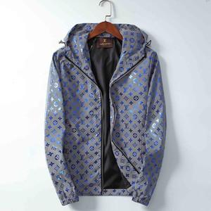 Atacado-2019 nova tendência primavera e outono moda loco marca nova jaqueta de grife dos homens jaqueta corta-vento Medusa jaqueta com zíper