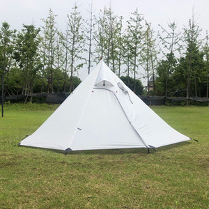 Портативная лагерная пирамидная палатка, сверхлегкие находятся на открытом воздухе